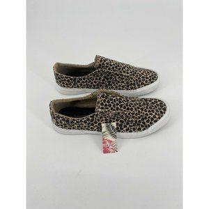 Tommy Bahama Women's Canvas Leopard Slip-On Sneake